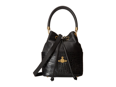 Vivienne Westwood - Beaufort Bucket Handbag (Black) Handbags