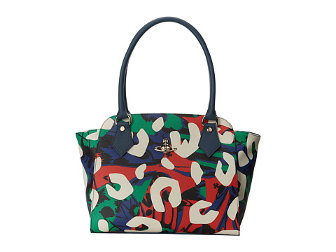 Vivienne Westwood - Graphic Print Tote Bag (Cream) Tote Handbags