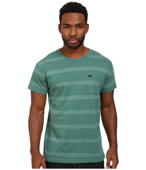 RVCA - Real Talk Knit Crew (Spruce) Men's T Shirt