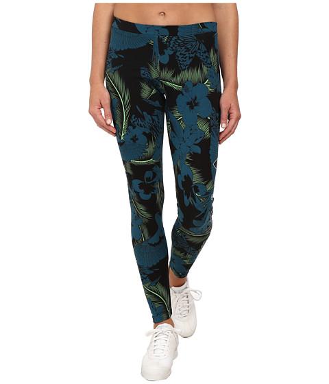 adidas Originals - Hawaii Legging (Multicolor Print/Black/White) Women's Casual Pants