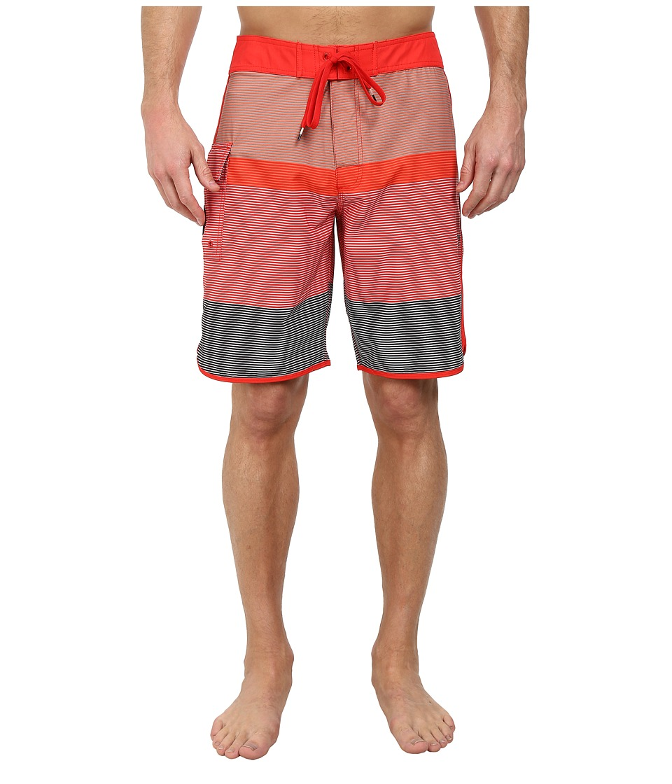 RVCA - Commander Trunk (Bright Red) Men's Swimwear