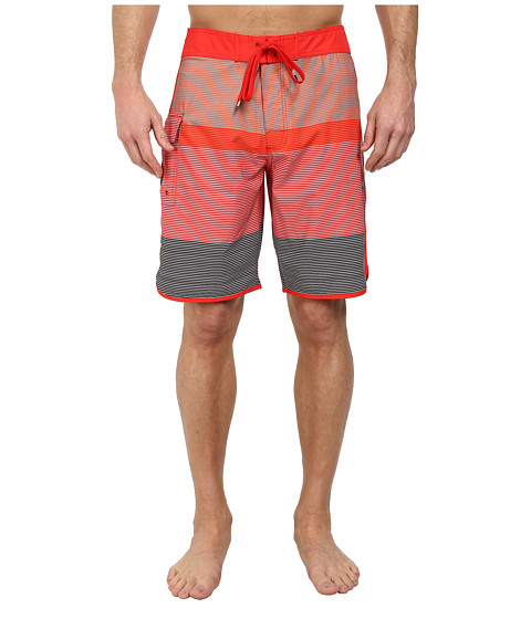 RVCA - Commander Trunk (Bright Red) Men