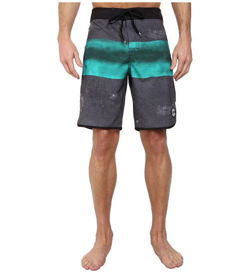 RVCA - Solo Stripe Trunk (Black) Men's Swimwear