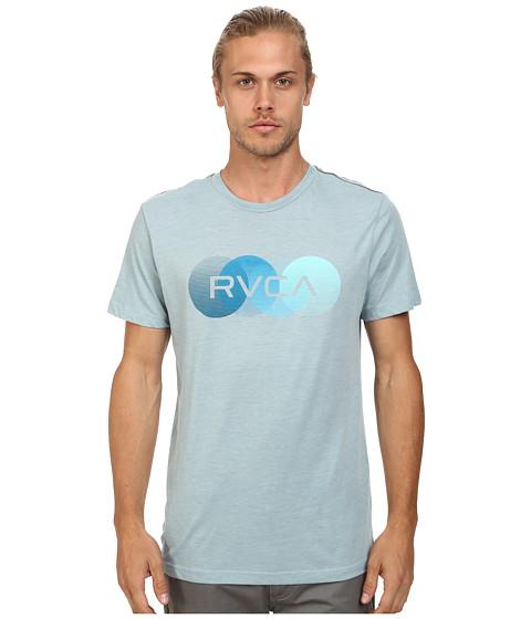 RVCA - RVCA Horizon Vintage Dye Tee (Blue Gray) Men's T Shirt