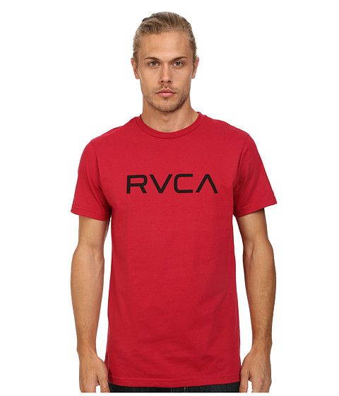 RVCA - Big RVCA Tee (Red) Men