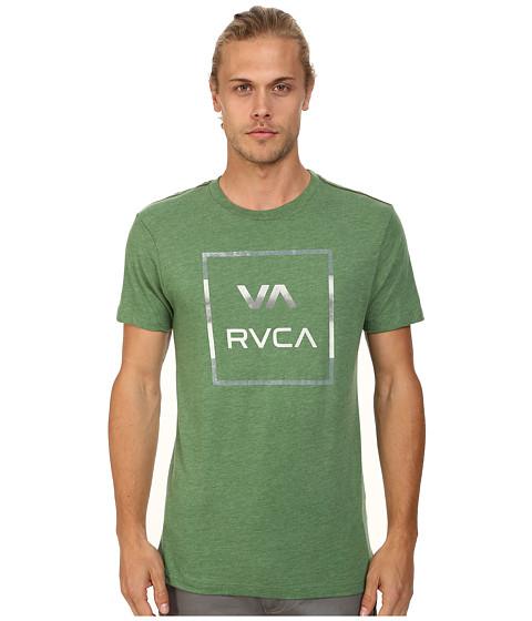 RVCA - VA All The Way Stripe Tee (Artichoke) Men's T Shirt