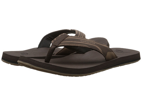 Quiksilver - Monkey Oasis (Demitasse/Solid) Men's Sandals
