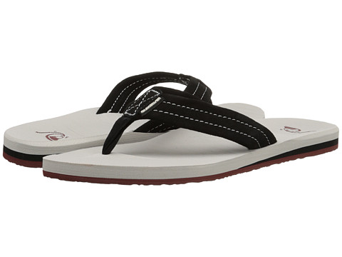 Quiksilver - Carver Suede (Black/Grey/Brown) Men's Sandals