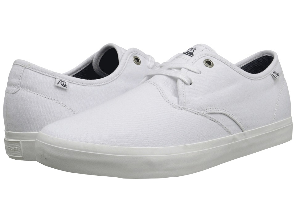 Quiksilver - Shorebreak (White/White/White) Men's Shoes