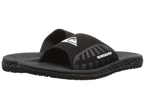0153e30de0ef UPC 888701273684 product image for Quiksilver - Triton Slide  (Black Black White Multi ...