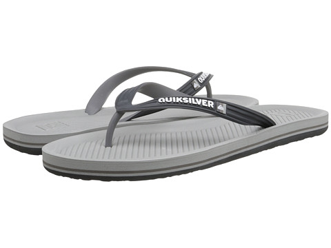 Quiksilver - Haleiwa (Grey/Grey/Grey) Men's Sandals