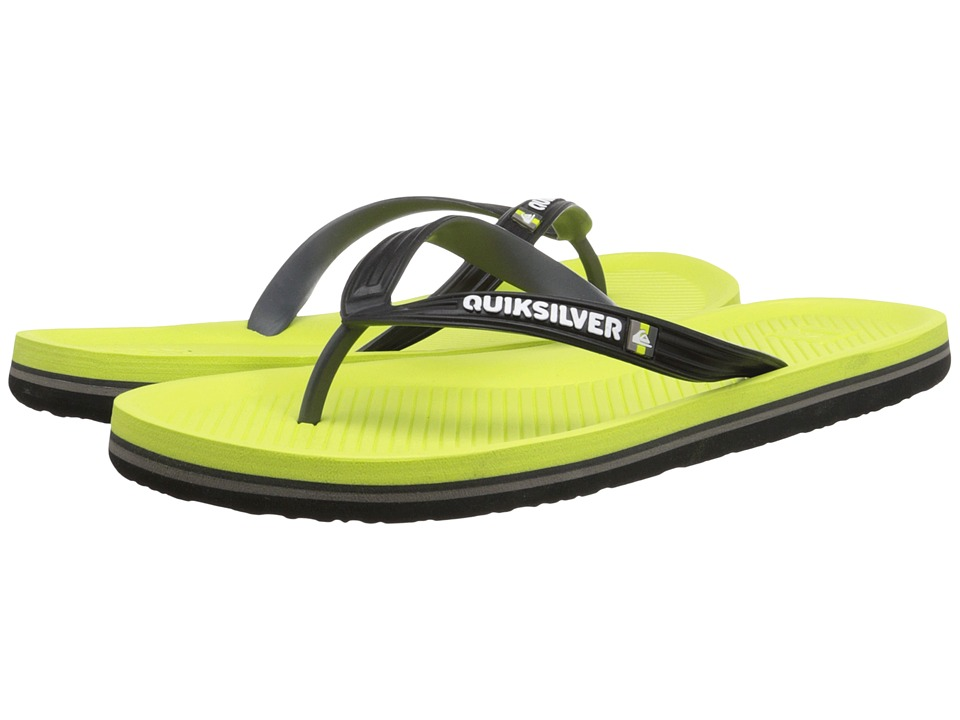 Quiksilver - Haleiwa (Black/Green/Green) Men's Sandals