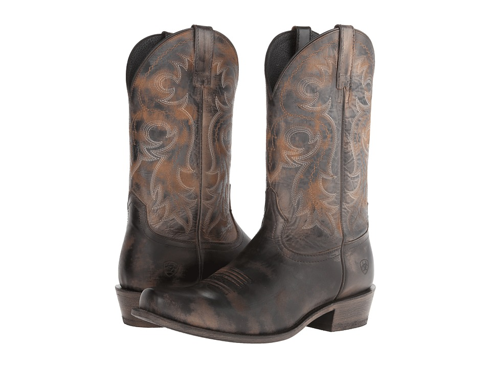 Ariat - Lawless (Rustic Black) Cowboy Boots