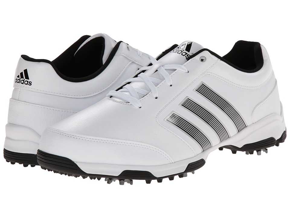 adidas Golf - Pure 360 Light (Running White/Core Black/Core Black) Men's Golf Shoes