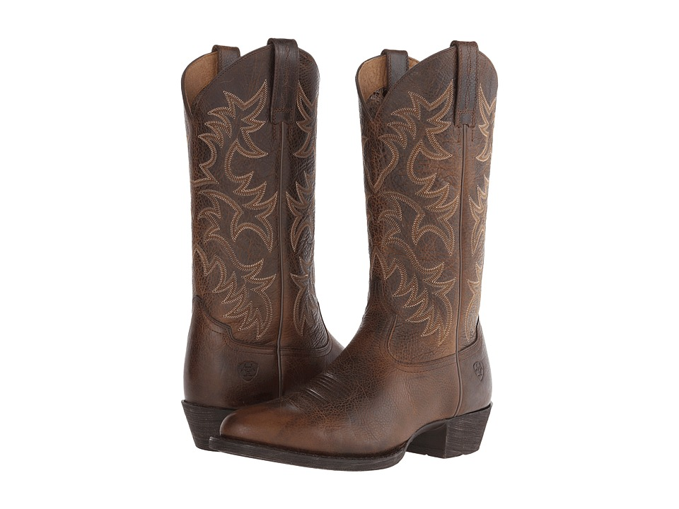 Ariat - Heritage Western R Toe (Wicker) Cowboy Boots