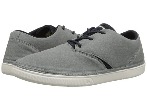 Quiksilver - Trestles (Grey/Blue/White) Men's Lace up casual Shoes