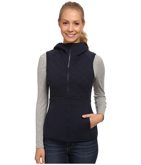 The North Face - Reversible Caroluna Vest (Urban Navy) Women