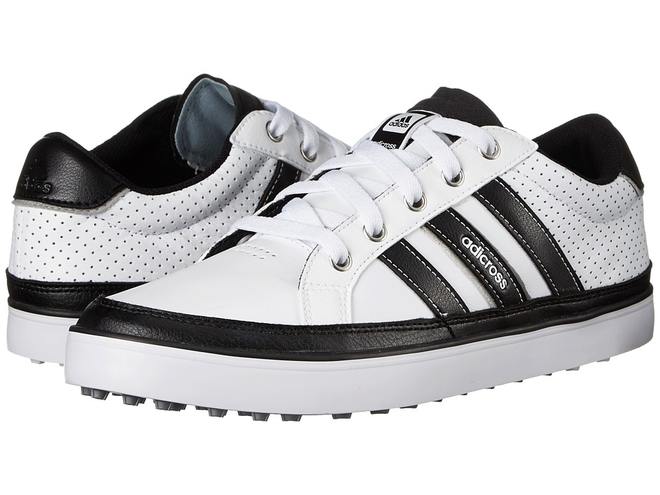 adidas Golf - adiCross IV (White/Core Black/Silver Metallic) Men's Golf Shoes