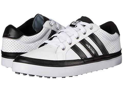 adidas Golf - adiCross IV (White/Core Black/Silver Metallic) Men