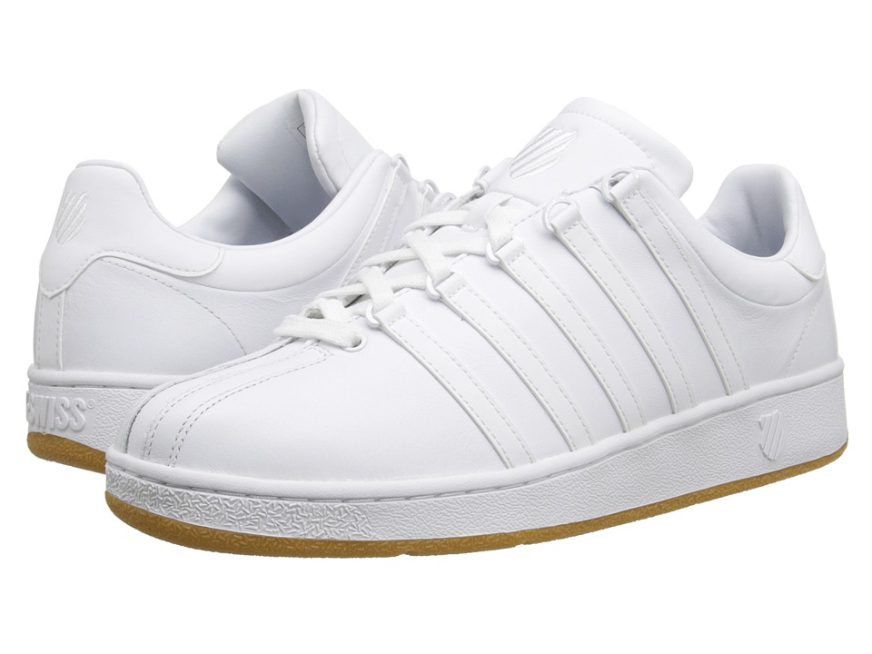 K-Swiss - Classic VN (White/White/Gum) Men's Shoes