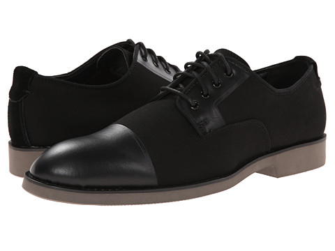 Calvin Klein Jeans - Corbin (Black Fabric) Men's Lace up casual Shoes