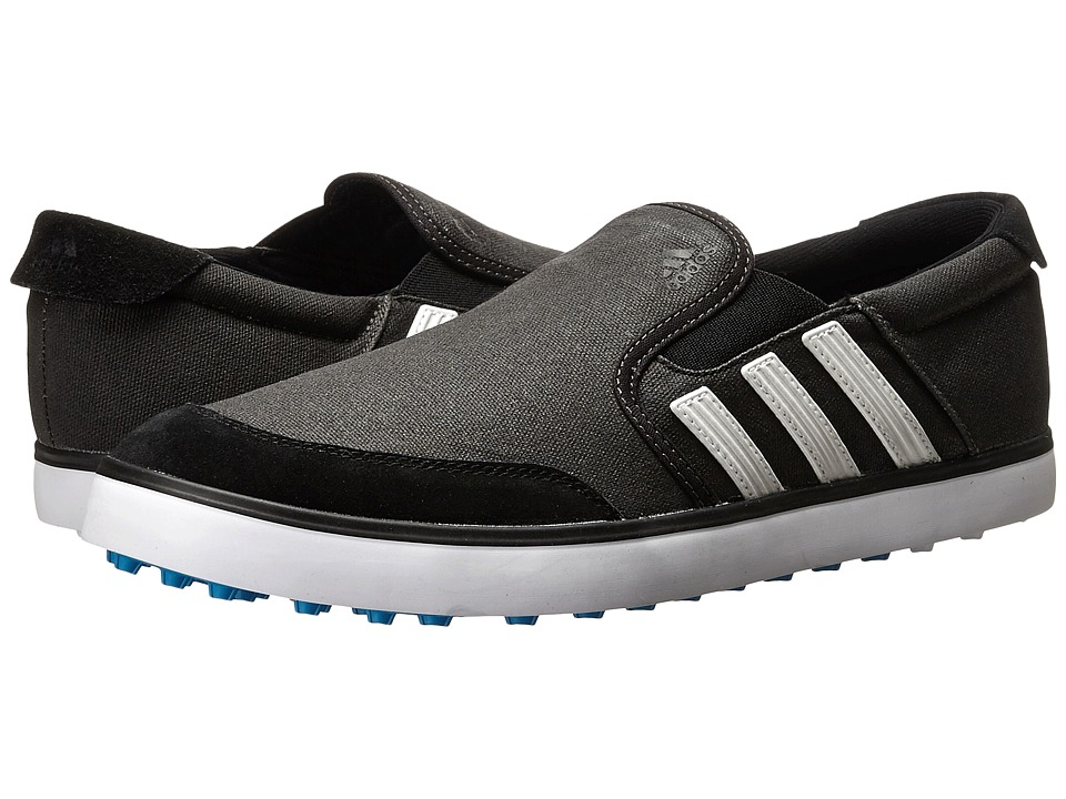 adidas Golf - adiCross SL (Core Black/White/Solar Blue) Men's Golf Shoes