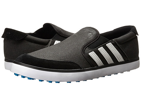 adidas Golf - adiCross SL (Core Black/White/Solar Blue) Men