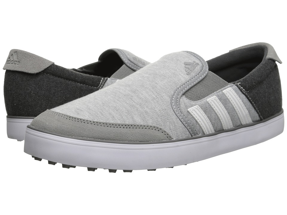 adidas Golf - adiCross SL (Core Heather/White/Dark Grey) Men's Golf Shoes