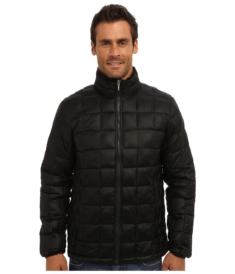 Rainforest - Puffer Bomber w/ ThermoLuxe (Black) Men's Coat