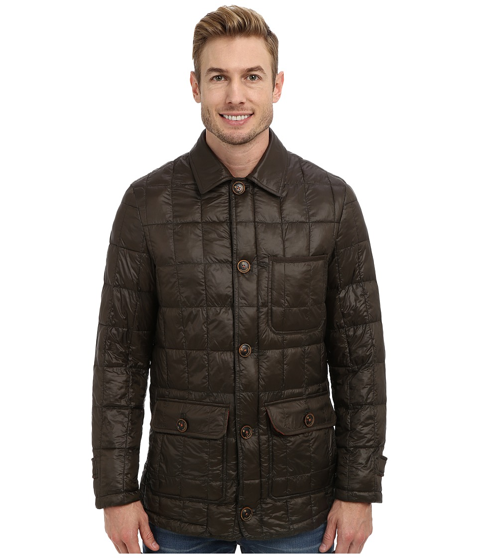 Rainforest - Feather Weight Cire Hipster Coat (Caviar) Men's Coat