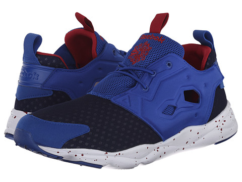 Reebok - Furylite (Collegiate Royal/White/Bing Cherry/Navy) Men's Shoes