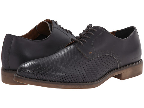 Calvin Klein Jeans - Onyx (Dark Grey Perf Leather) Men's Shoes