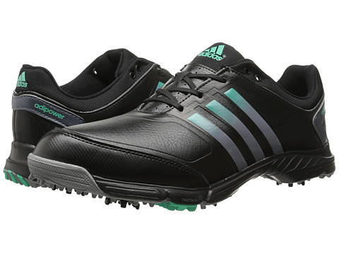 adidas Golf - adiPower TR (Core Black/Onix/Bright Green) Women