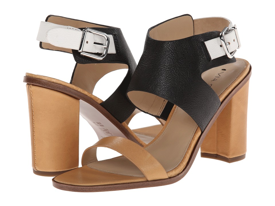 Via Spiga - Belia (Black/Tan/White) Women