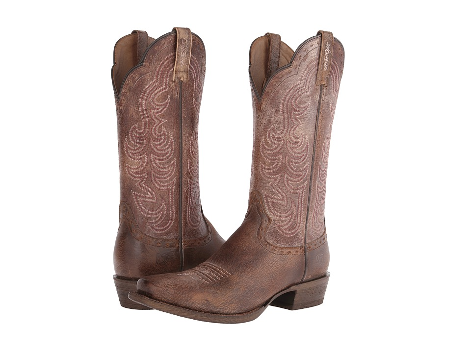 Ariat - Good Times (Antique Brown) Cowboy Boots
