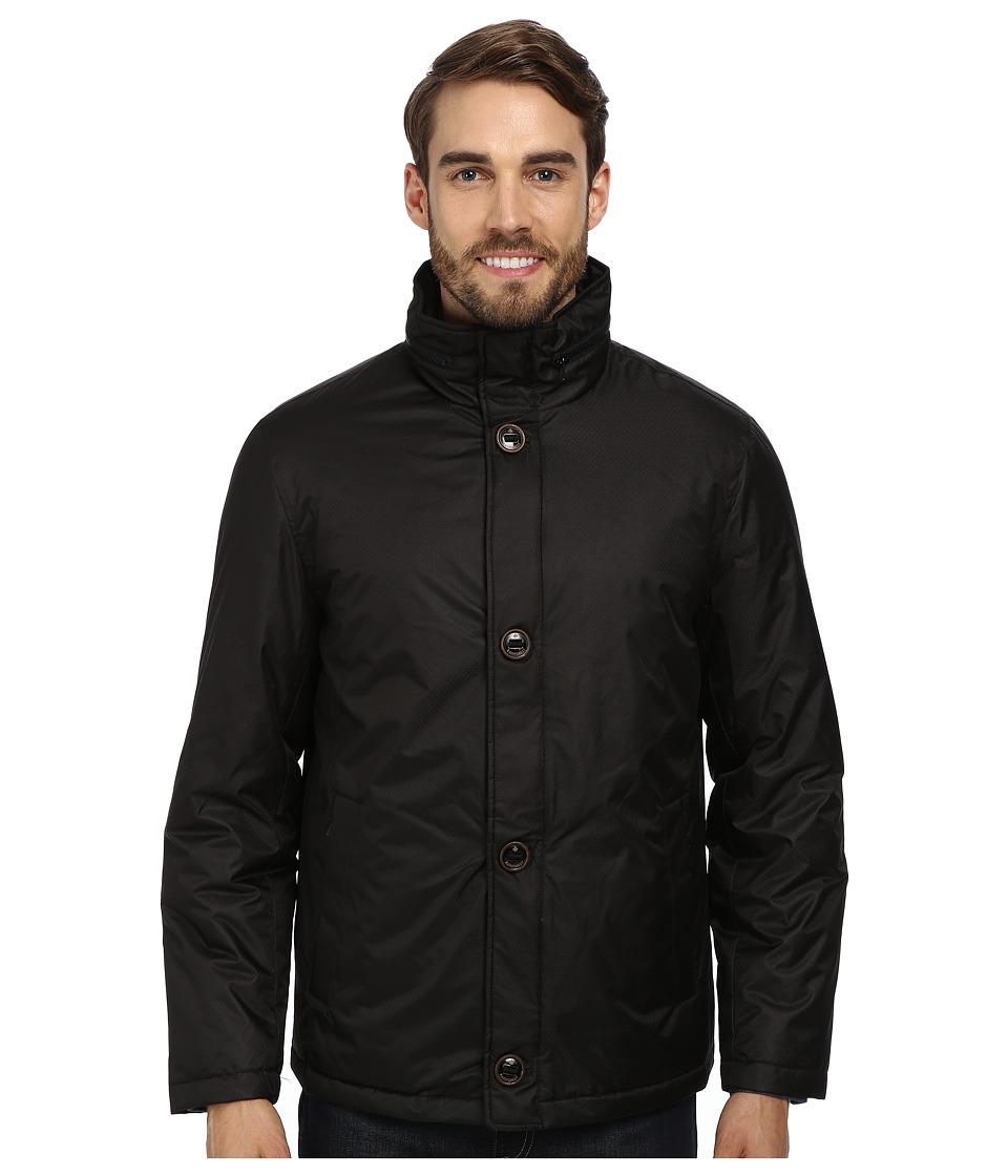 Rainforest - Jacquard Bomber (Black) Men's Coat