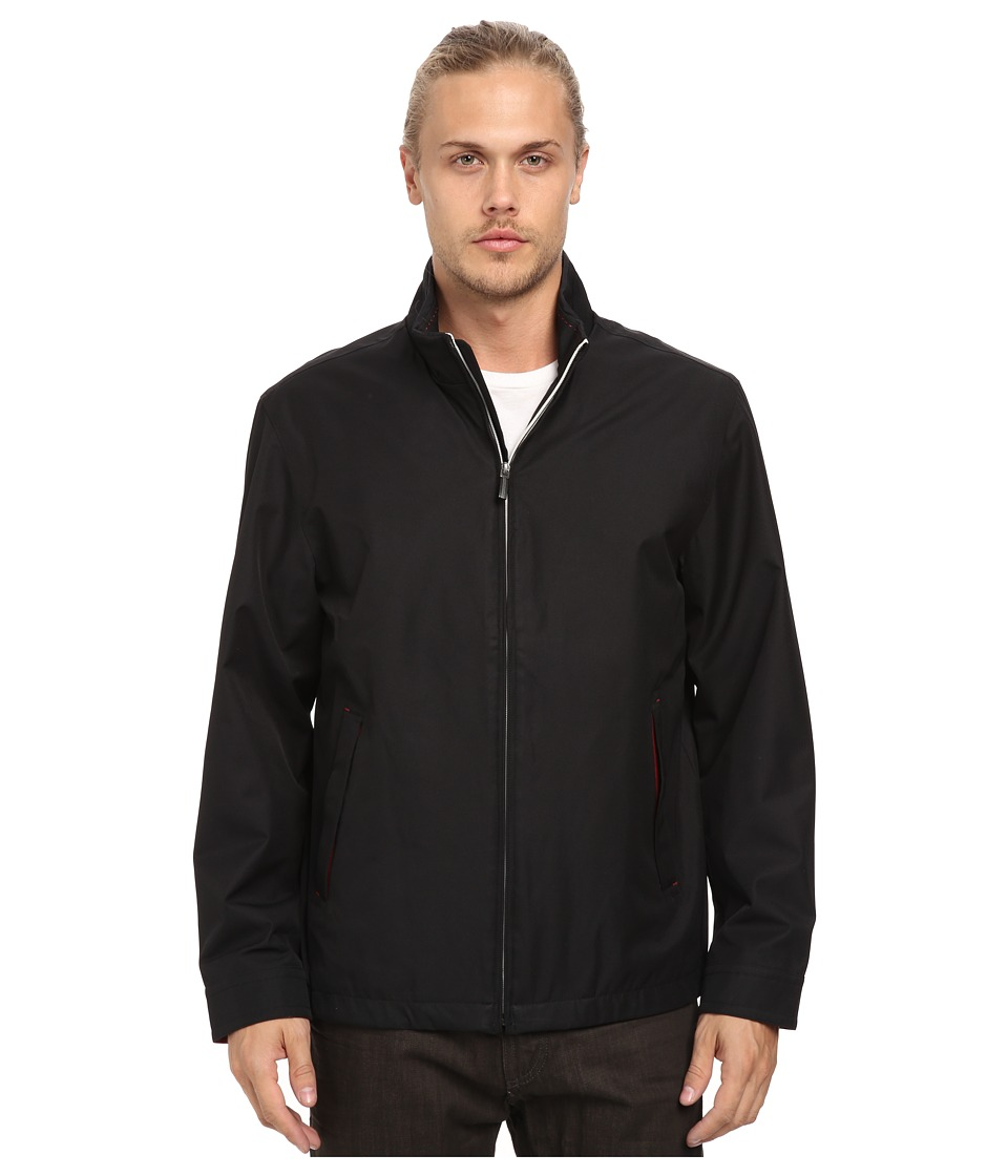 Rainforest - Micro Twill Light Weight Bomber (Black) Men