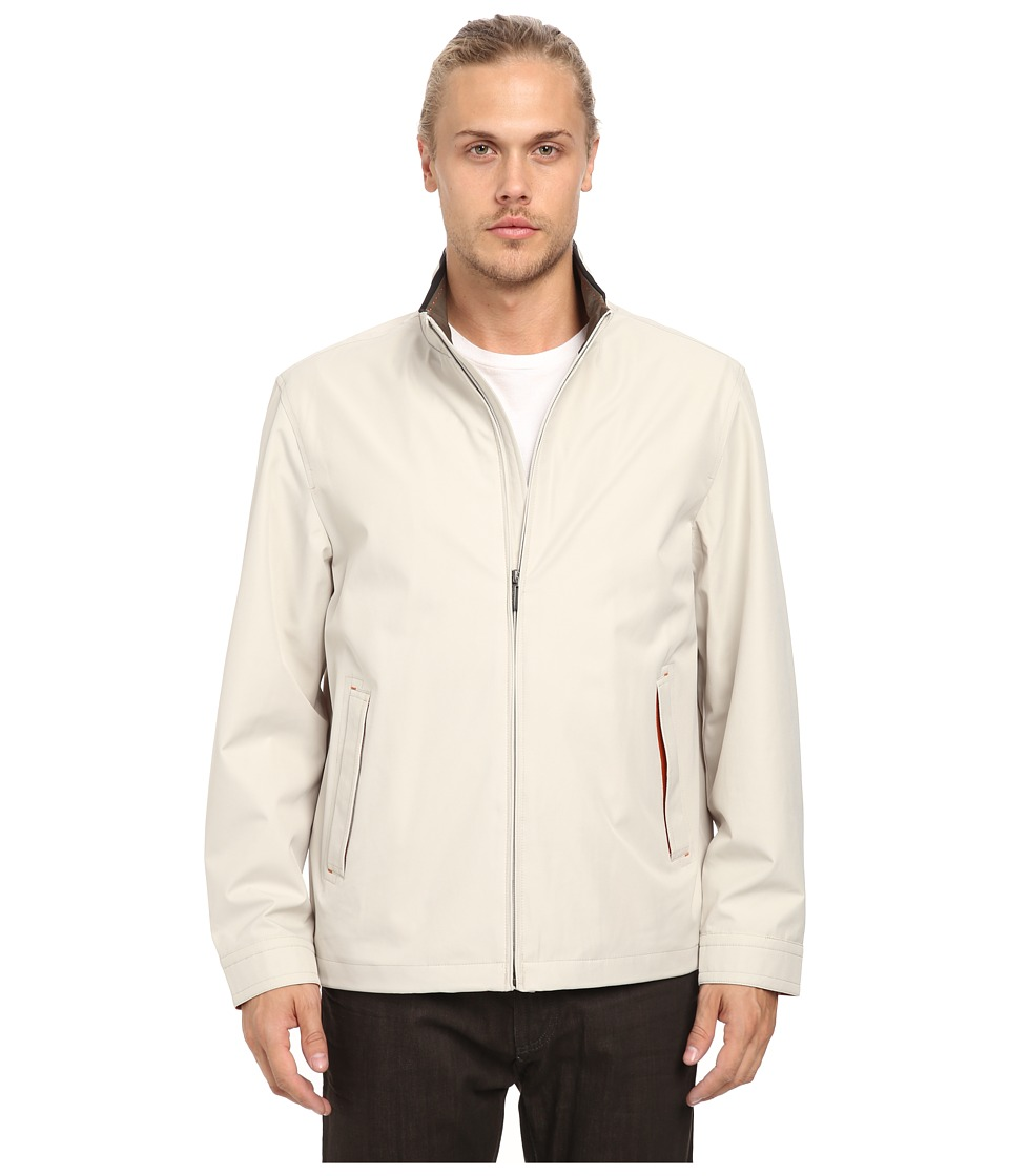 Rainforest - Micro Twill Light Weight Bomber (Smoke) Men's Coat