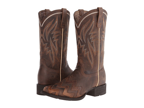 Ariat - On Point (Sassy Brown) Cowboy Boots