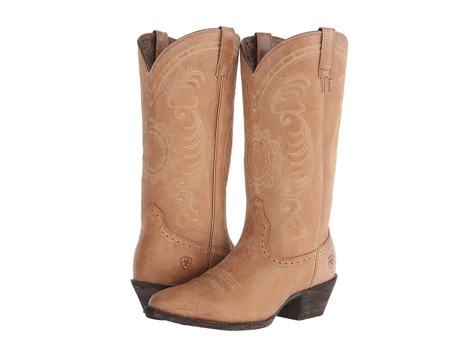 Ariat Magnolia (Golden Tan) Cowboy Boots