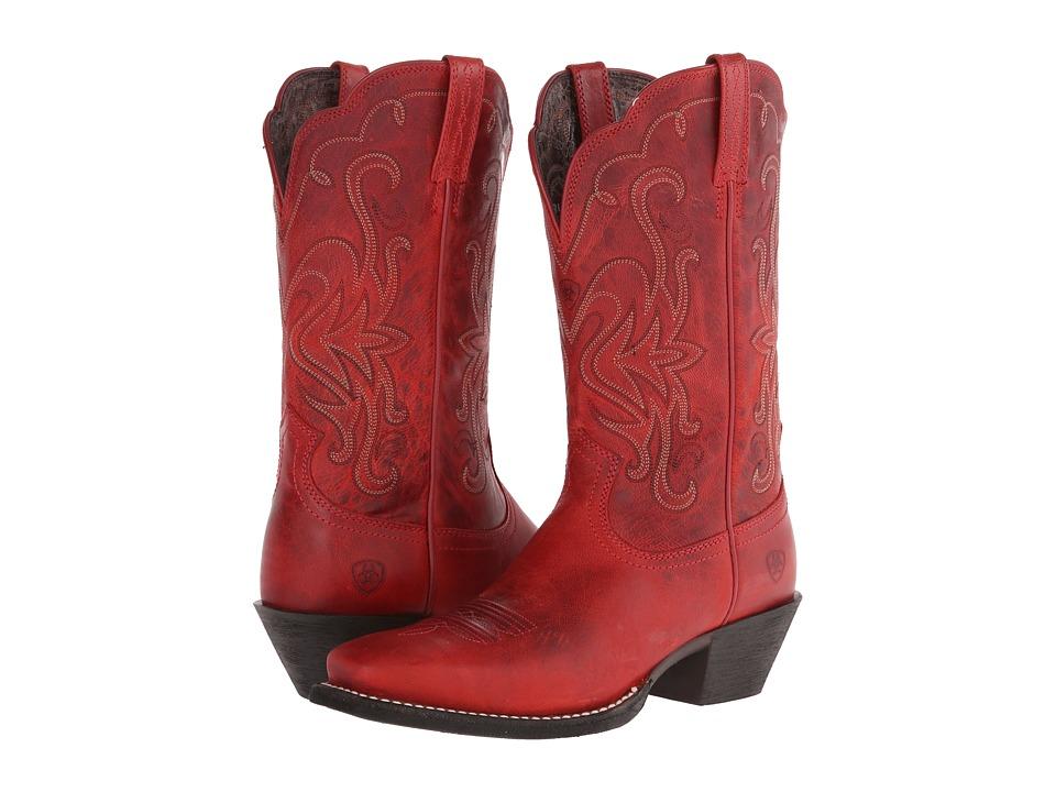 Ariat - Legend (Redwood) Cowboy Boots