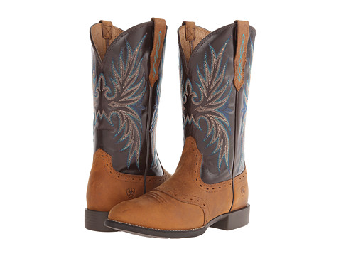 Ariat - Heritage Stockman II (Root Beer/Rich Chocolate) Cowboy Boots