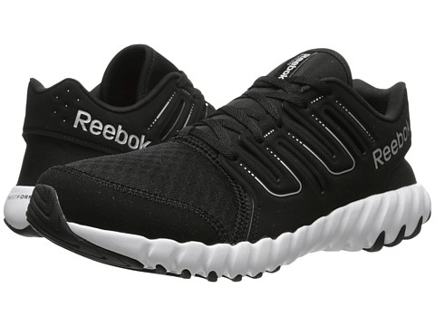 Reebok - TS Run (Black/Steel/Matte Silver) Men