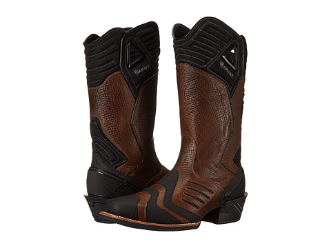 Ariat - Catalyst VX Square Toe (Patterned Brown) Cowboy Boots