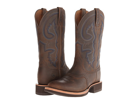 Ariat - Quantum Crepe (Distressed Brown) Cowboy Boots