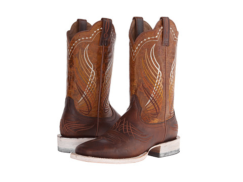 Ariat - Mecate (Rusted Wire/Yellow Appy) Cowboy Boots