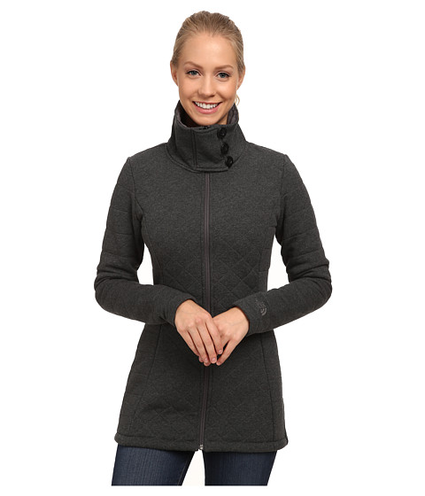 The North Face - Caroluna Jacket (Graphite Grey Heather) Women's Coat