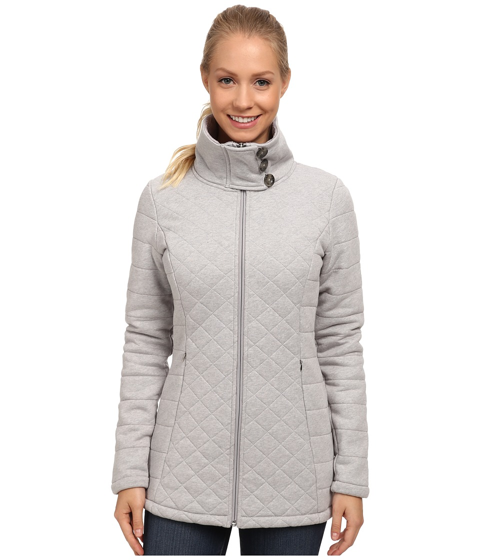 The North Face Caroluna Jacket (Heather Grey1) Women