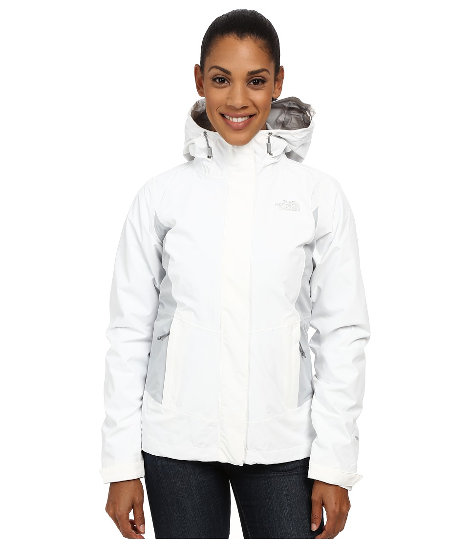 The North Face - Claremont Triclimate Jacket (TNF White/High Rise Grey) Women's Coat