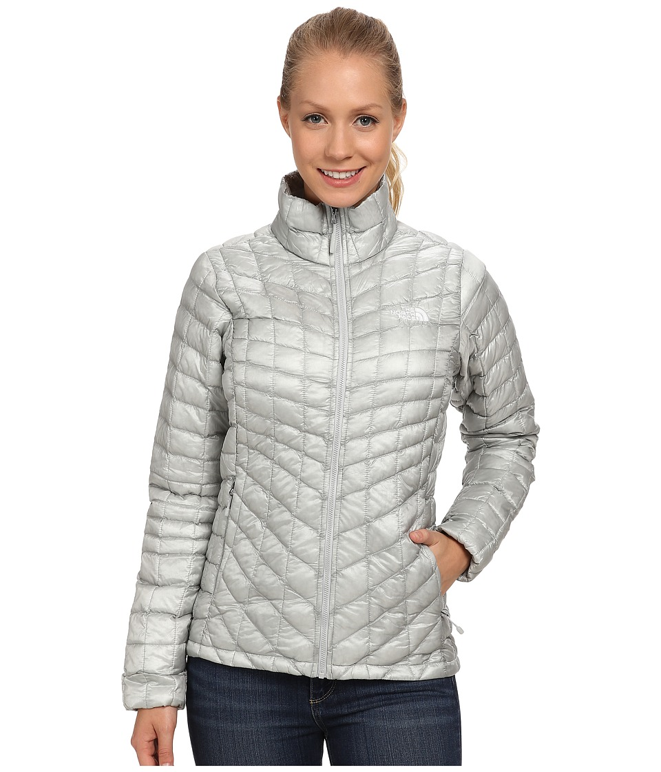 The North Face - ThermoBall Jacket (High Rise Grey) Women's Coat
